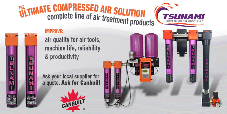 The Ultimate Compressed Air Moisture Control, Tsunami