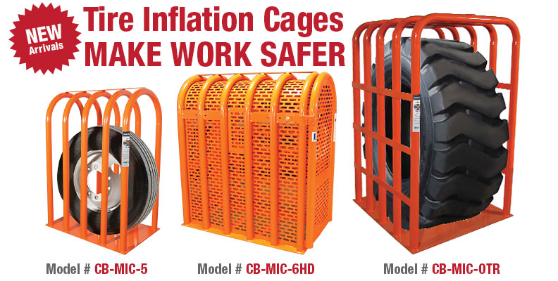 Tire Inflation Safety Cages