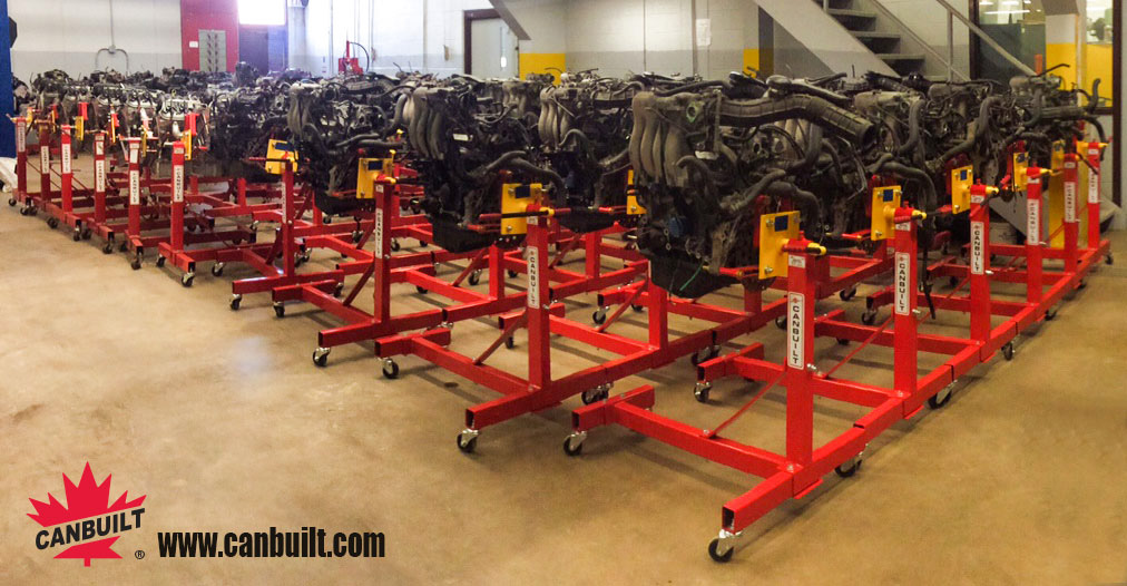 Canbuilt Motor/Engine Stands at Centennial College