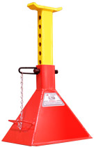 10 Ton Safety Stand: <br />Pin Type  Model Number: 10T