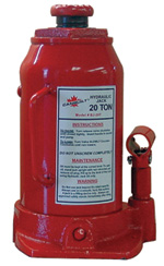 20 Ton Bottle Jack  Model Number: BJ-20