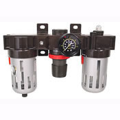3 Piece Filter/Lubricator/Regulator,3/8