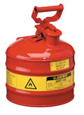 Type I - 2 Gal. Safety Container  Model Number: JR-10501