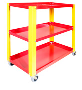 3 Shelf Utility Cart  Model Number: MC-3