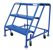 Three Step Rolling Ladder