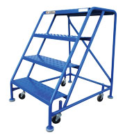 Four Step Rolling Ladder