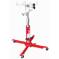 Transmission Jack: 2 Stage/Manual Hydraulic  Model Number: TJ-200S