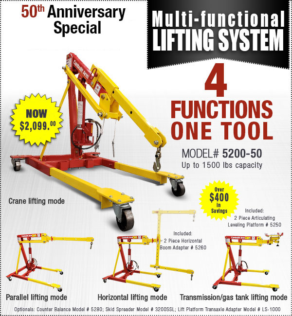 Multi-Functional Lifting System - Mobile Crane